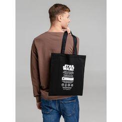 Холщовая сумка Star Wars Care Label, черная